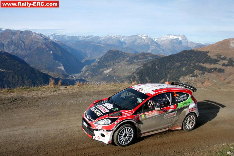 Maciej Oleksowicz au rallye du Valais 2011