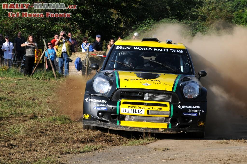 Daniel Oliveira au rallye d'Allemagne 2011