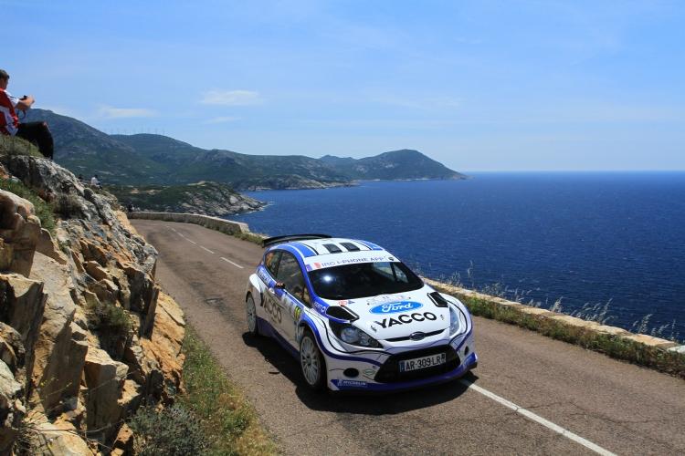 Julien Maurin au tour de Corse 2011