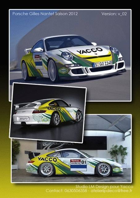 Porsche 997 GT3 de Gilles Nantet