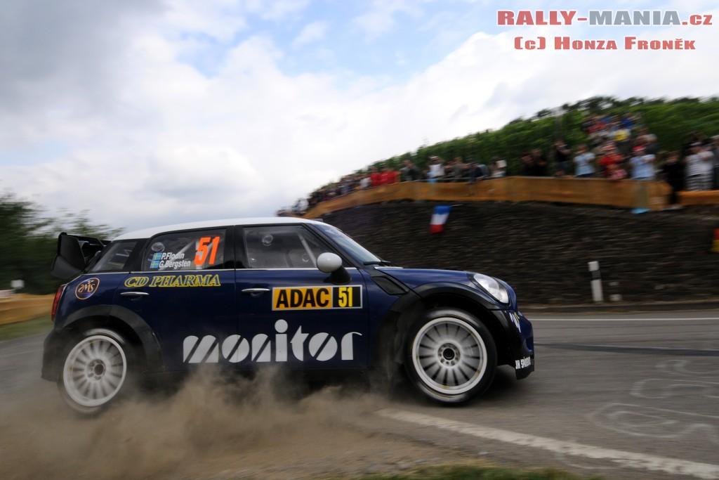 Patrick Flodin lors du rallye d'Allemagne 2011