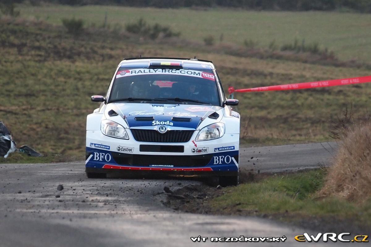 Freddy Loix lors du rallye Monte-Carlo 2011