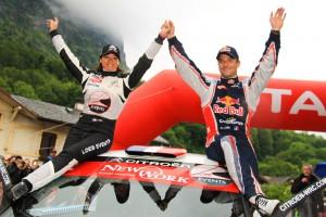 podium loeb rallye du Chablais 2013