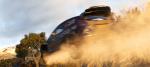 Ford Fiesta WRC en l'air